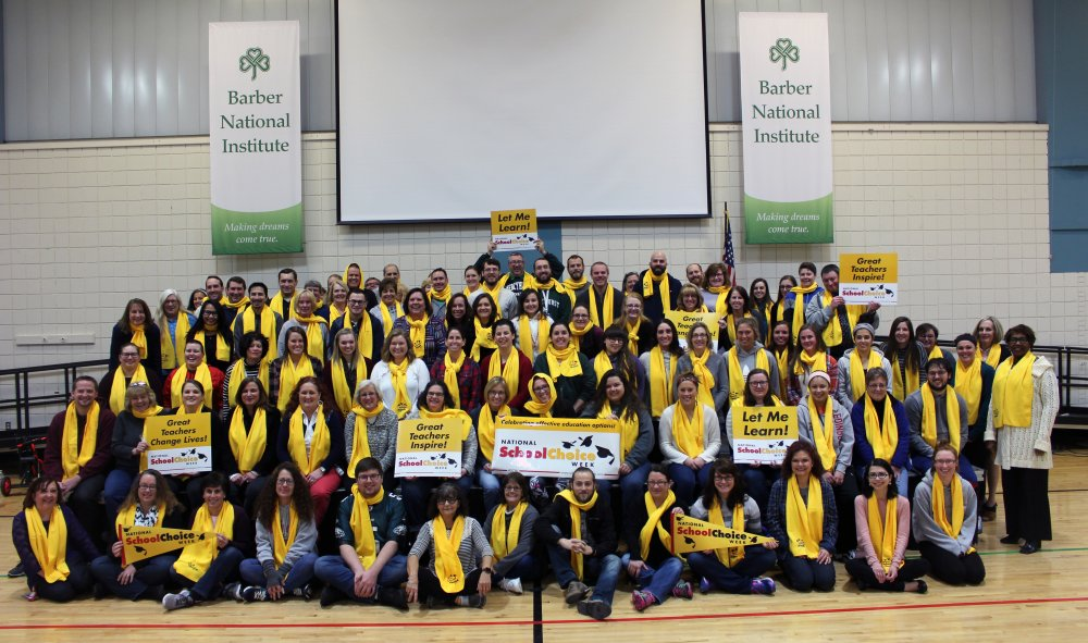 Barber National Institute celebrates School Choice Week