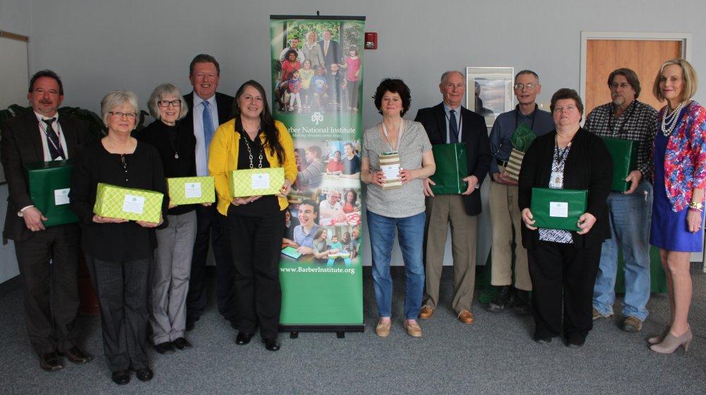 Staff Anniversaries Celebrated