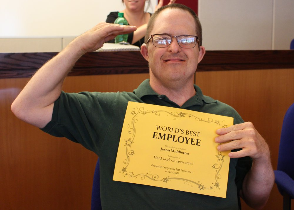 Employees Recognized at SGE Awards