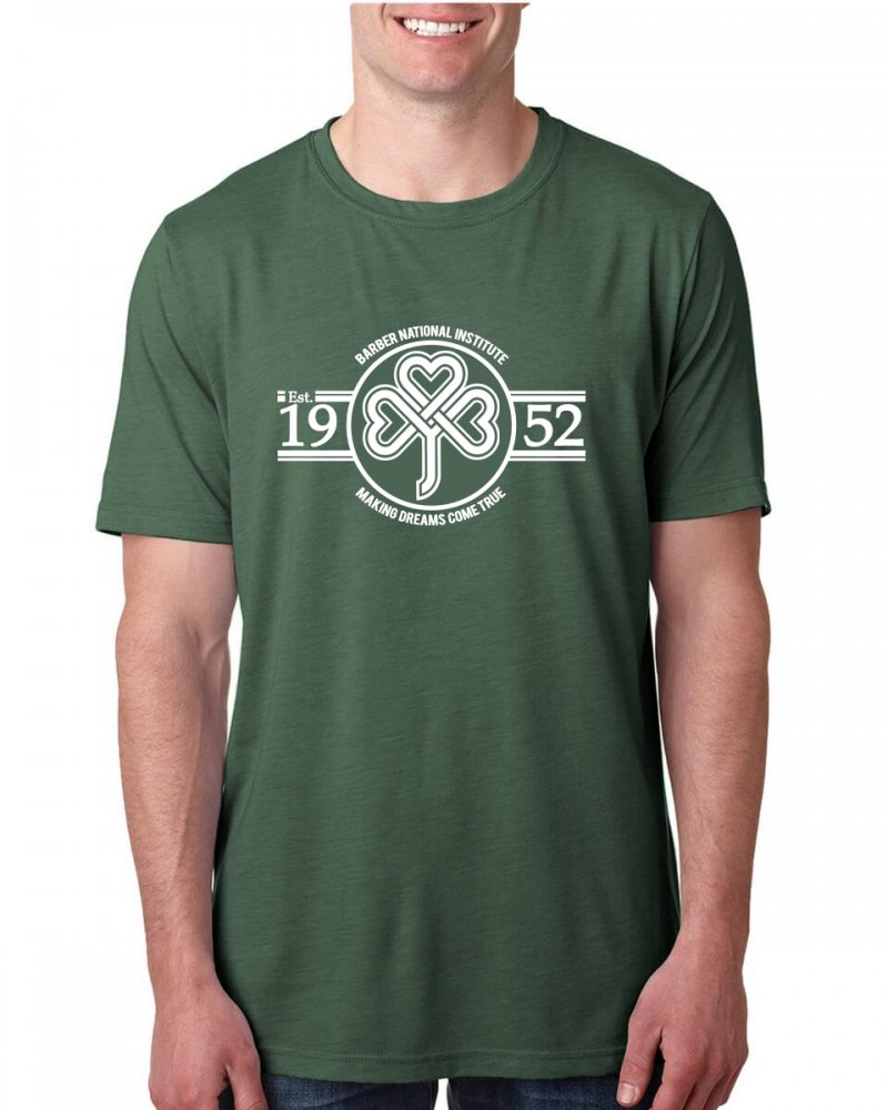 Barber National Institute Pine Green T-Shirt