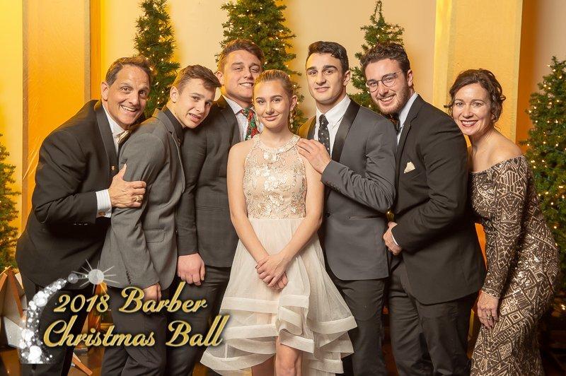 2018 Barber Christmas Ball - Photo Booth