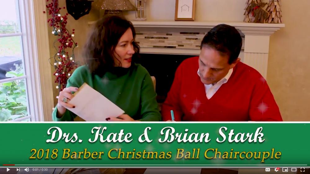 2018 Barber Ball Chaircouple Message