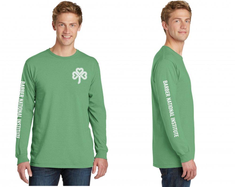 Barber National Institute Green Long Sleeve Shirt