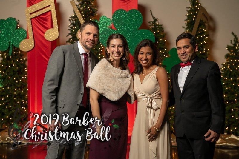 2019 Barber Christmas Ball - Photo Booth