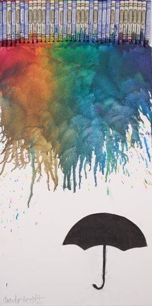 "242 ""Colorful Rain"" by Amanda Scott"