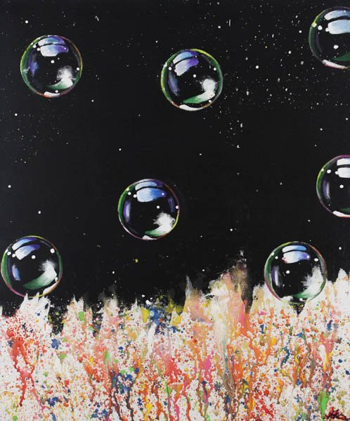 """7 """"Bubbles"""" by Annabelle Kerner"""