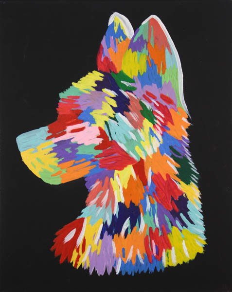 """35 """"How My Soul Howls"""" by Riley Hill"""