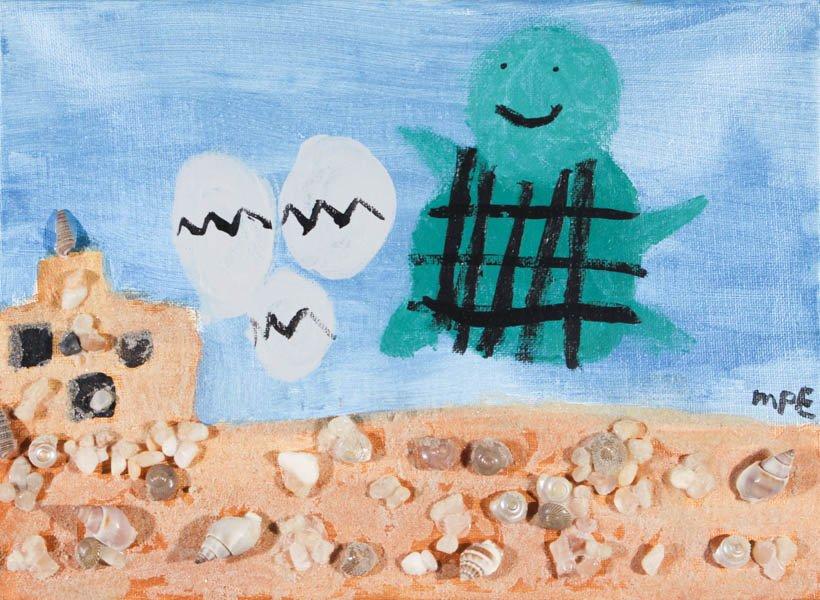 "42 ""Turtle in the Sea"" by Molly Elliott"
