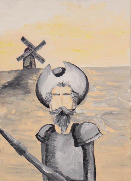 """103 """"Don Quixote"""" by Lemoris Gonzalez Mendez"""