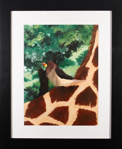"""74 """"Giraffe"""" by Morgan Salter"""