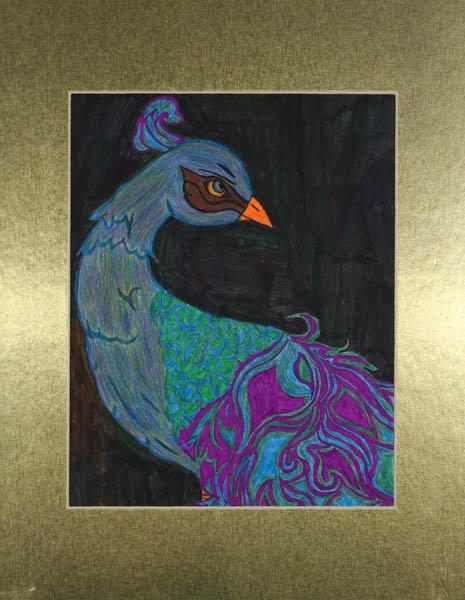 "105 ""Royal Peacock"" by Amy Sidan"