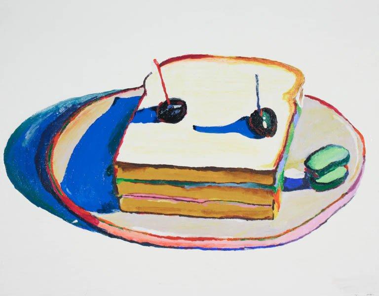 """123 """"After Wayne Thiebaud Sandwich"""" by Rachel Nesgoda"""