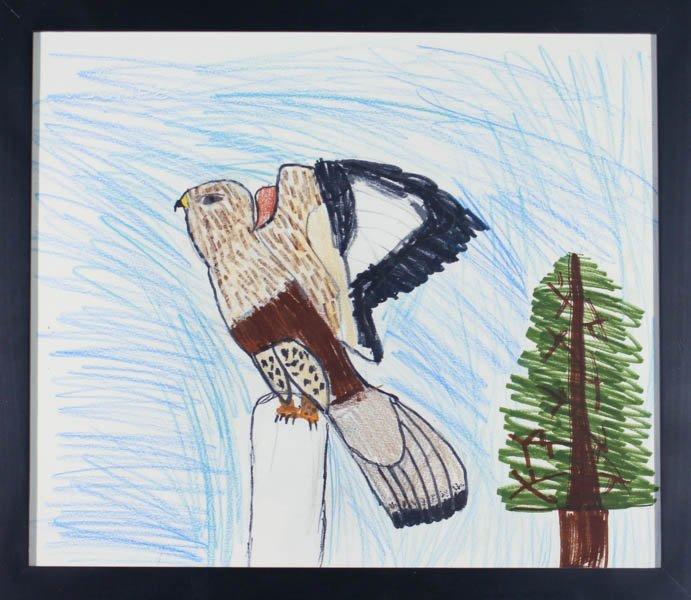 "200 ""Rough-legged Hawk"" by Grabe Beadle"