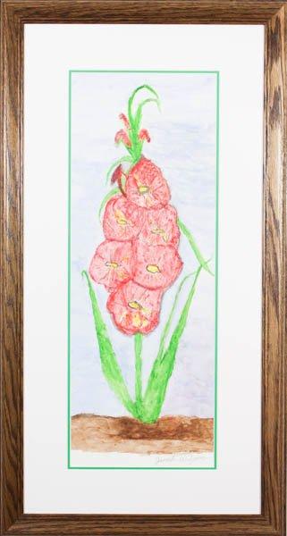 "340 ""Gladiolus 1"" by Janet Wilson"