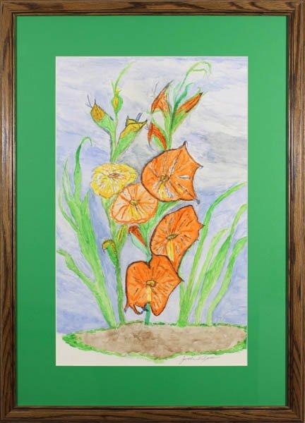 "341 ""Gladiolus 2"" by Janet Wilson"