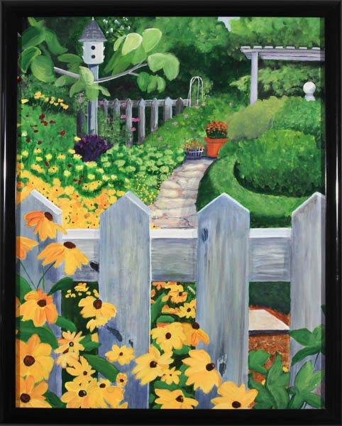 "319 ""Garden Gate"" by Judith Pelkowski"