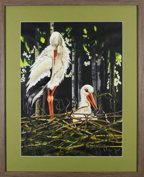 "400 ""Storks"" by Holly A. Villella"