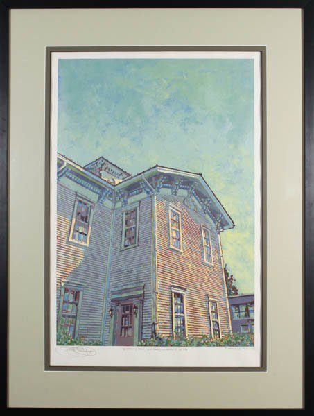 "363 ""Academy Hall, Edinboro University, Edinboro, PA"" by Francis Demaske"