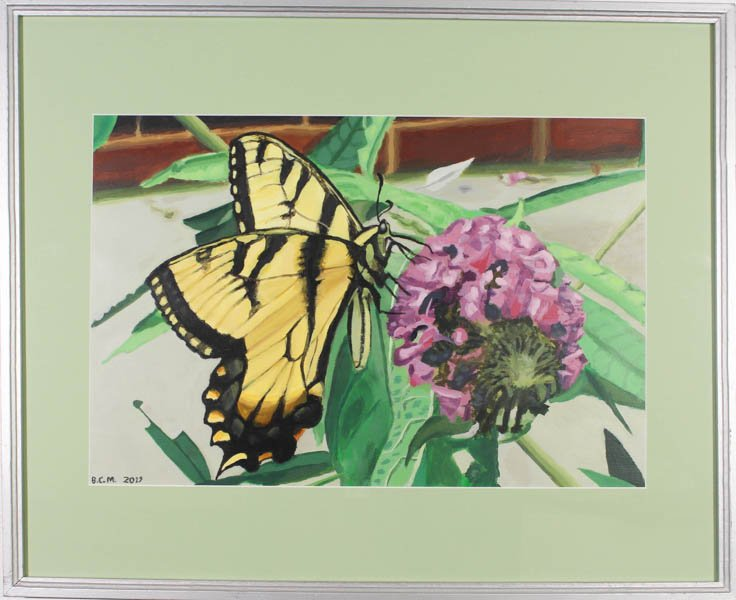 "386 ""Hungry Swallowtail Butterfly"" by Brian C. Maloney"