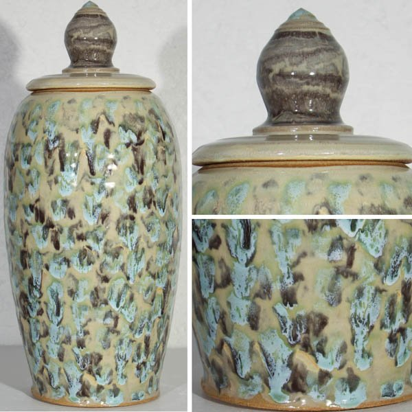 "387 ""Lidded Jar"" by Jessie Simmons"