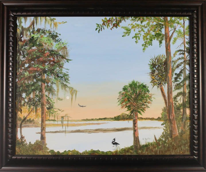 "393 ""South Carolina, Wetlands"" by Arlene Millis"