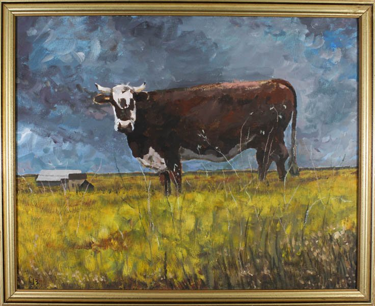 "417 ""County Cow"" by Chuck Benson"