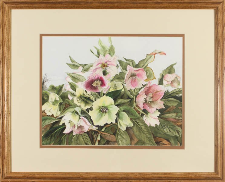 "418 ""Lenten Rose - The Promise of Spring"" by Carolyn Carner"
