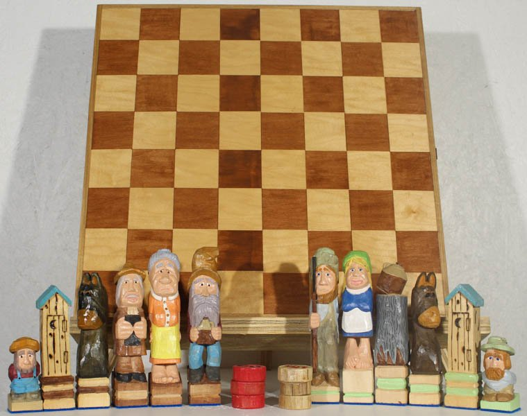 "444 ""Hillbilly Chess"" by Gary Rafferty"