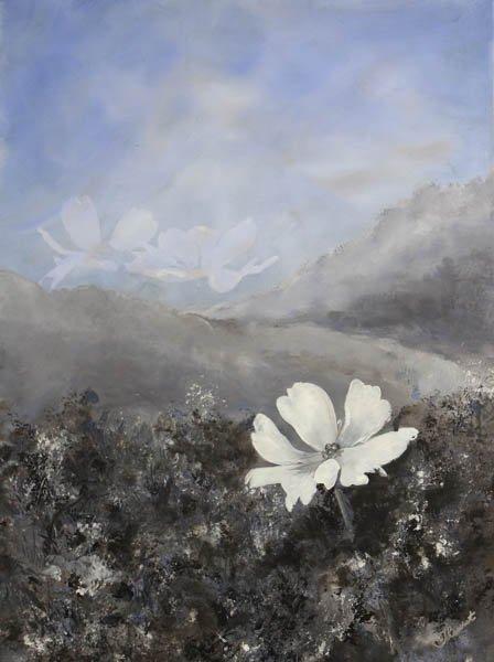 """463 """"Les Bleus"""" by Lois Theuret Giewont"""