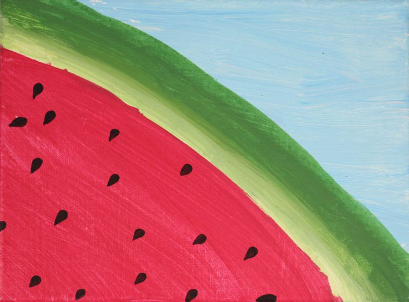 "493 ""Watermelon"" by Brenda MacDonald"