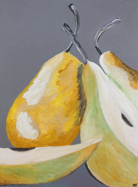 "600 ""A Pair of Pears"" by Maria Scott"