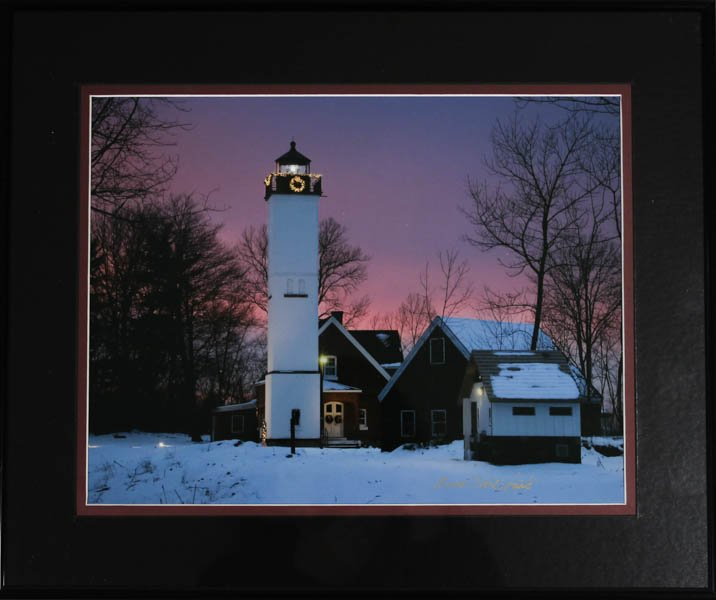 "508 ""Presque Isle Lighthouse"" by Anna Marie Senita"