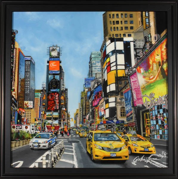 "539 ""Made It to Times Square"" by Cynthia Lyons"