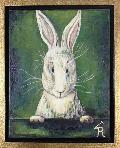 "561 ""Carl - the Hare"" by Gudrun Richter"