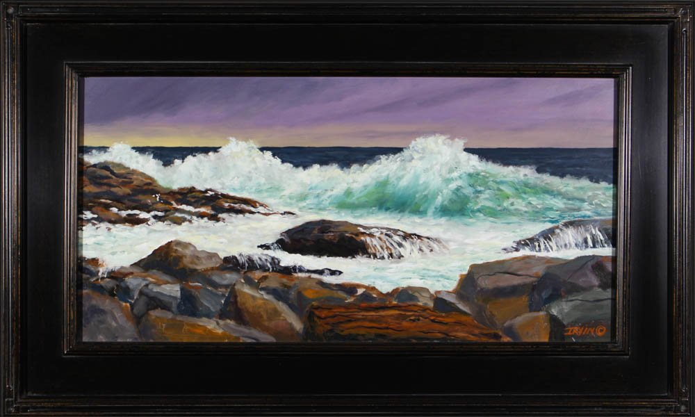 "564 ""Surf at Lobster Cove'"" by Kevin Irvin"