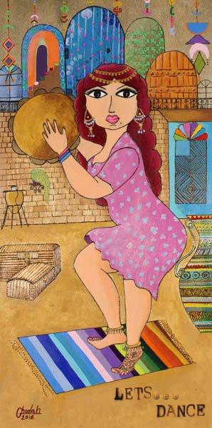 """569 """"Henna Dance"""" by Ghadah Hussein"""