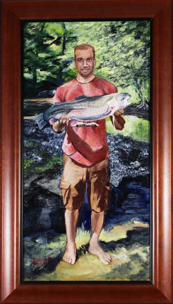 "585 ""Happy Fisherman"" by Daniel Weisbrod"