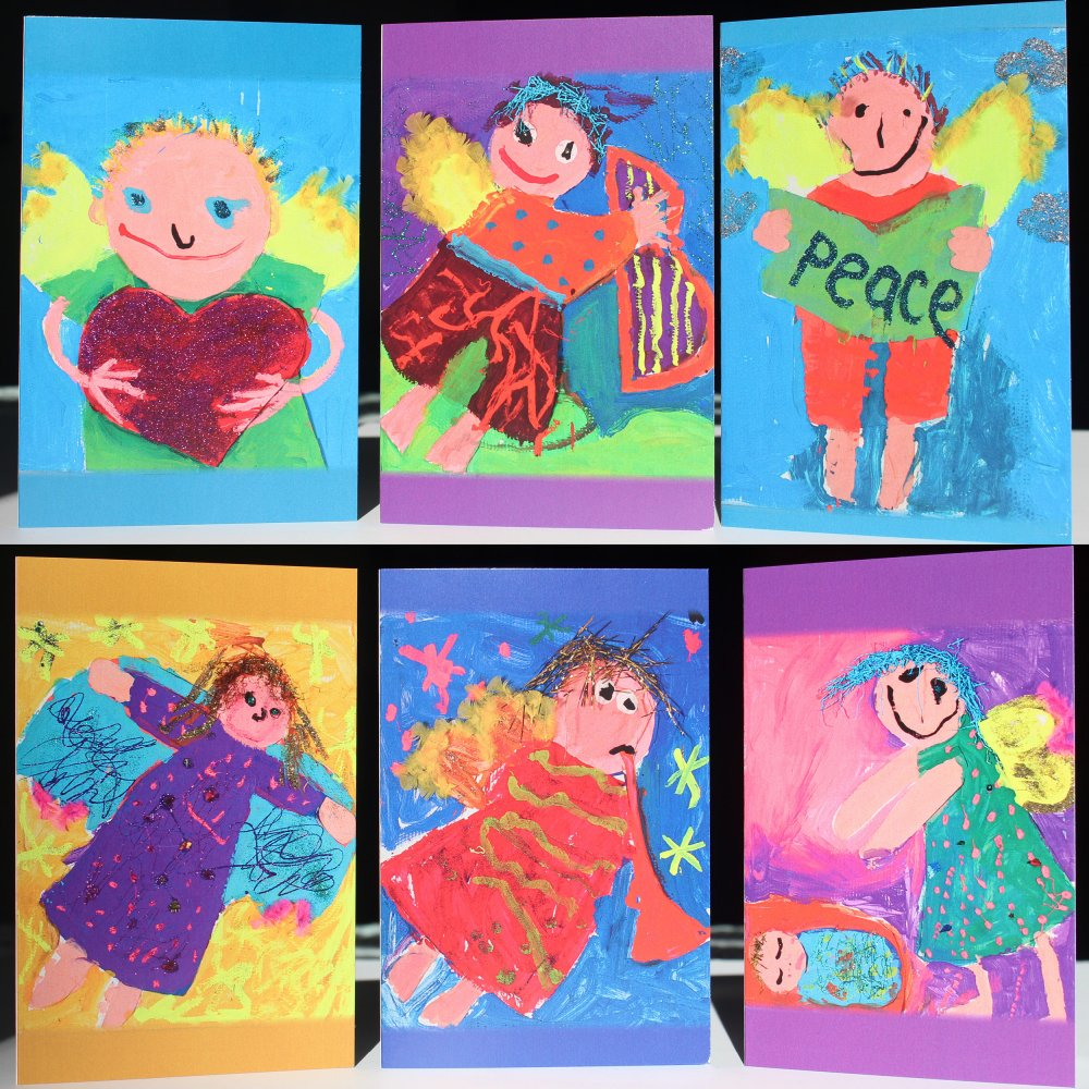 Angel Cards - Pack of Six