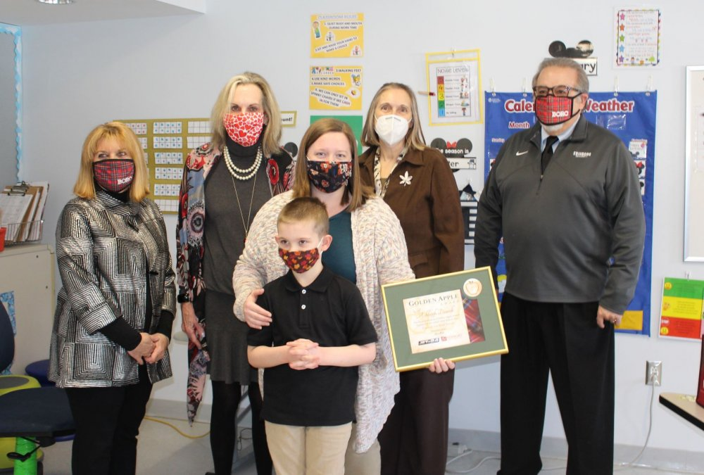 Teacher Awarded