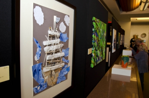 The show included the work of more than 160 youth artists.