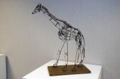 """Wire Giraffe"" by Brian Maloney."