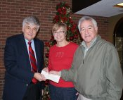 Our Own Candle Company Donation Honors Dr. Barber