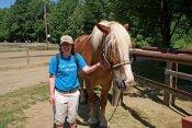 Camp Shamrock Visits WLD Ranch