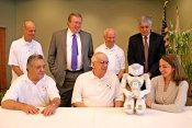 Sons of Little Italy Donates to Robot Research Project