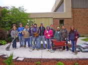 Erie Insurance Volunteers Help Beautify Gardens