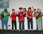 Students rock the stage at annual Holiday show