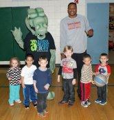 Erie Bayhawks' Justin Brownlee visits Barber National Institute