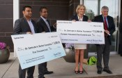 Home2 Suites and Patel Family donate $18,200
