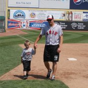 Children enjoy day of baseball thanks to SeaWolves and Siebenbuerger Club