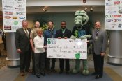 $1,000 check presented to Presque Isle Partnership